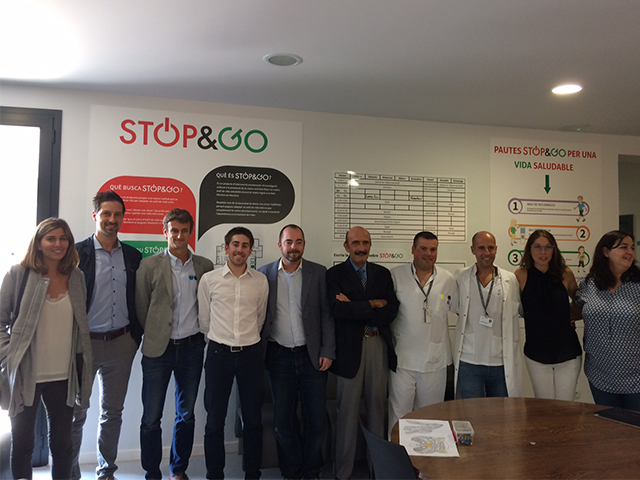 El projecte Stop & Go, de la Unitat de Conductes Addictives de Sant Pau, finalista als Premis Hospital Optimista